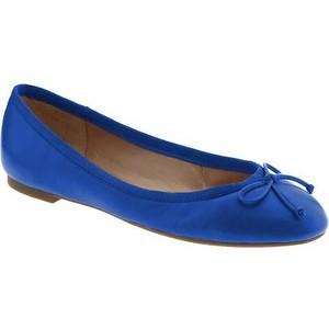 Blue Ballet Flat Shoes