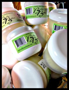 Body Butters packaged and ready to ship.