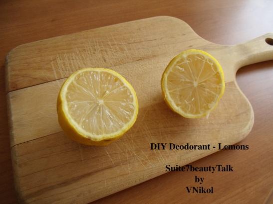 DIY Deo - Lemons