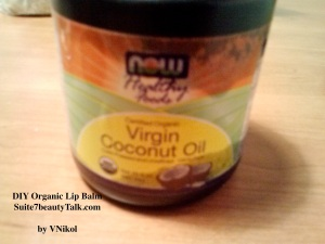 Sorry for this pic, I use a lot of Virgin Coconut Oil so the container is a tad oily..lol