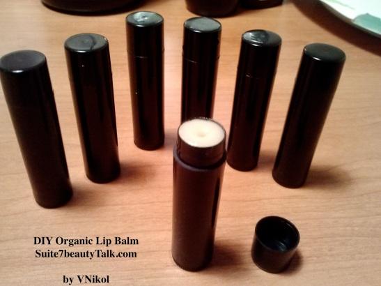 DIY Organic Lip Balm