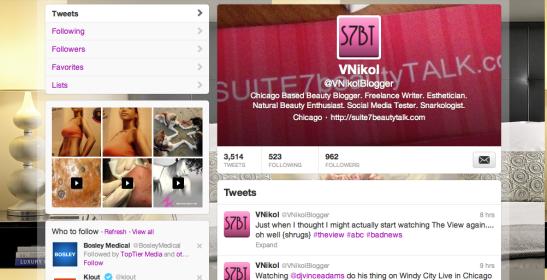 VNikol Twitter Profile