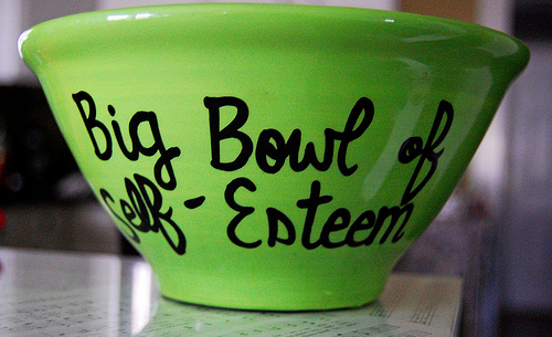bowl of self-esteem