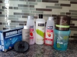 My hair staples…. 8 products total.