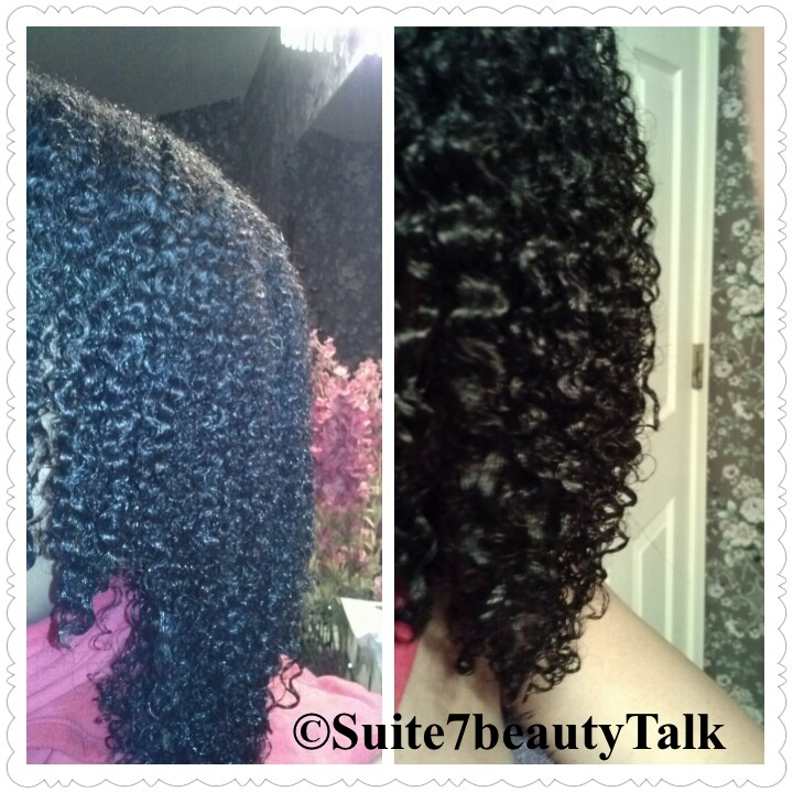 Natural Curl Pattern After Keratin Treatment